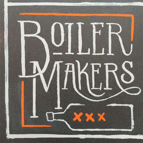 Boiler Makers Lettering