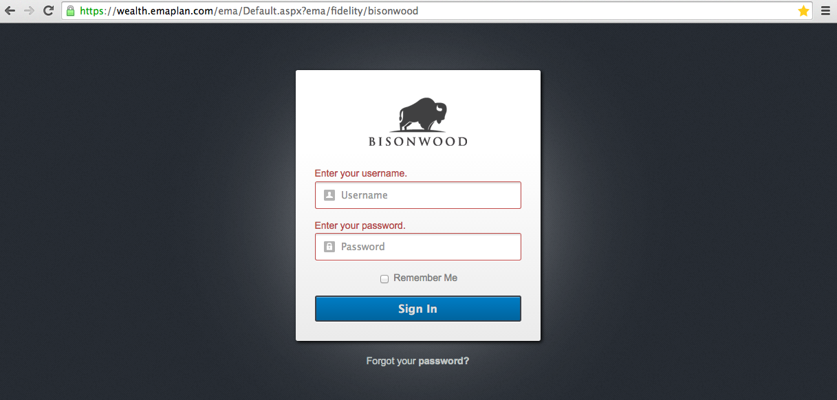 bisonwood-client-portal-login-prompt