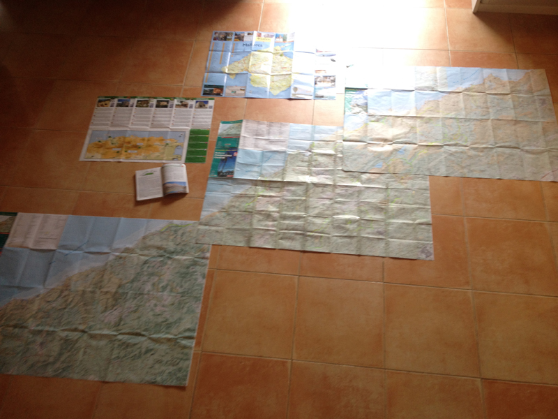 Planning the route