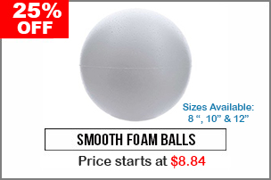 Smooth Foam Balls