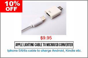 Apple Lighting Cable Converter