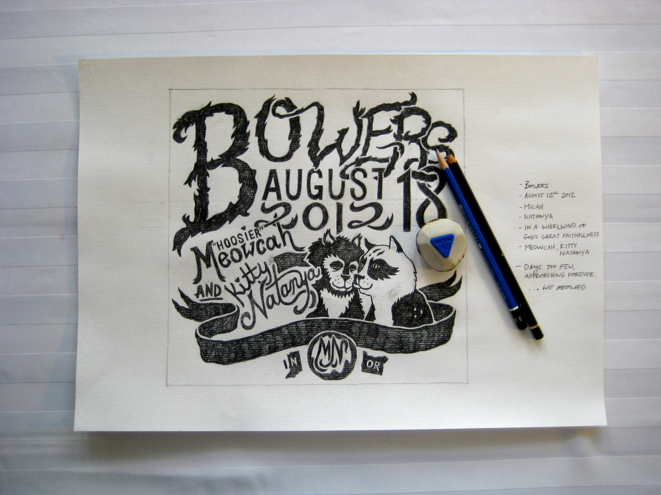 Portland, Oregon. Illustration, Lettering, Design. Micah Bowers
