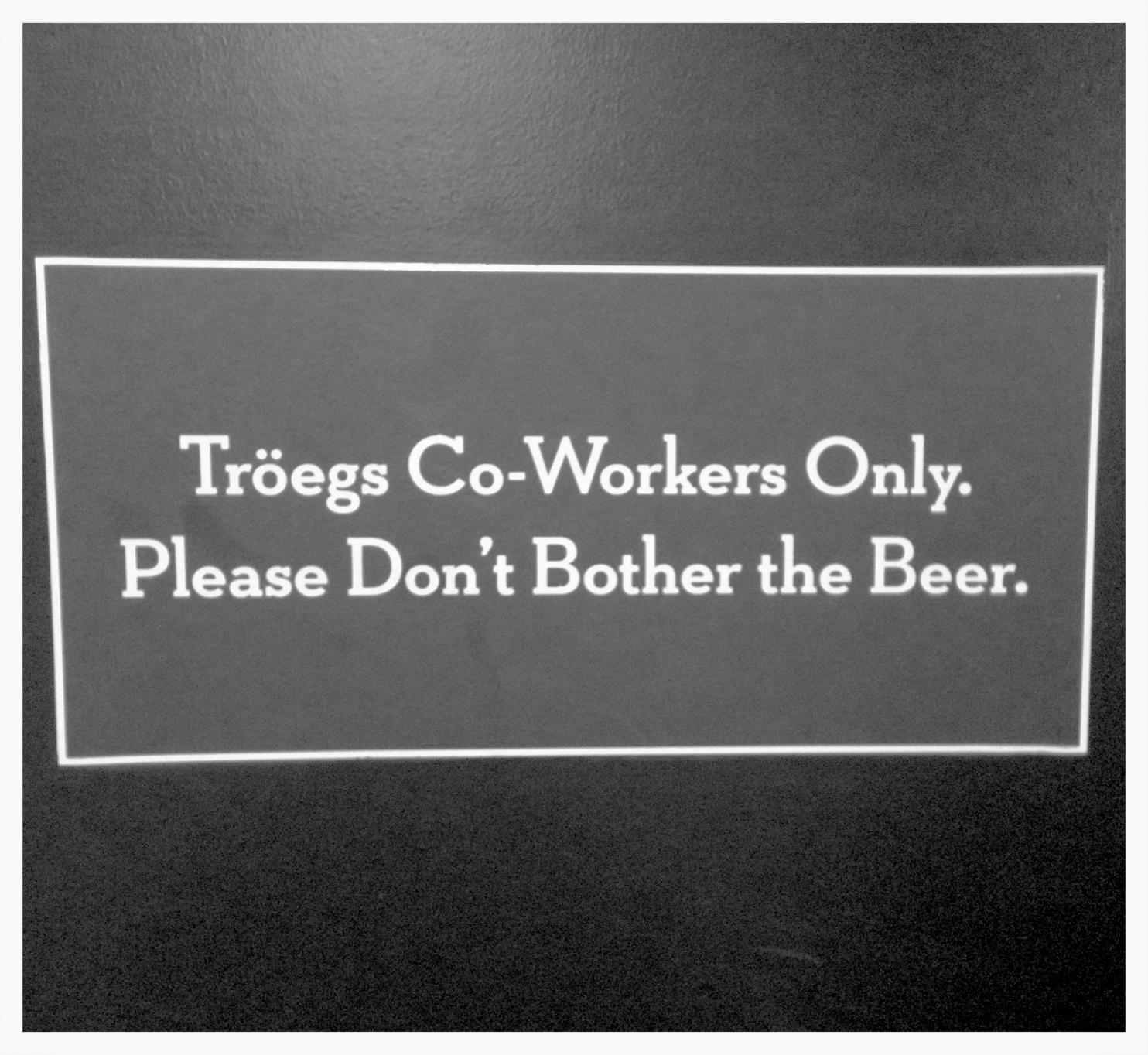 Clever Tröegs Signage