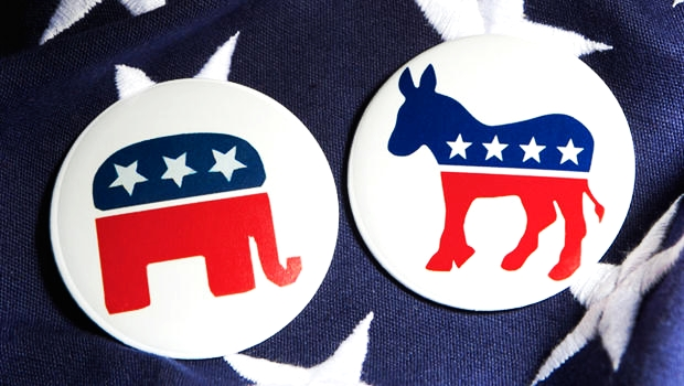 Political Party Buttons