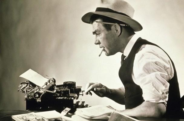 Vintage Journalist Reporter Typewriter