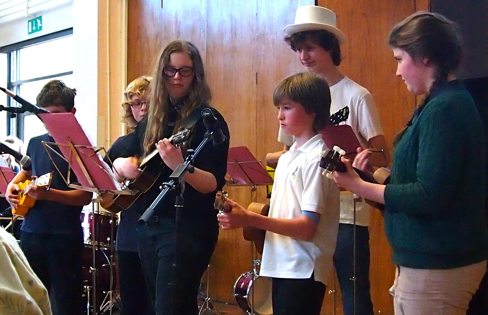 St. Mary's Ukulele Orchestra
