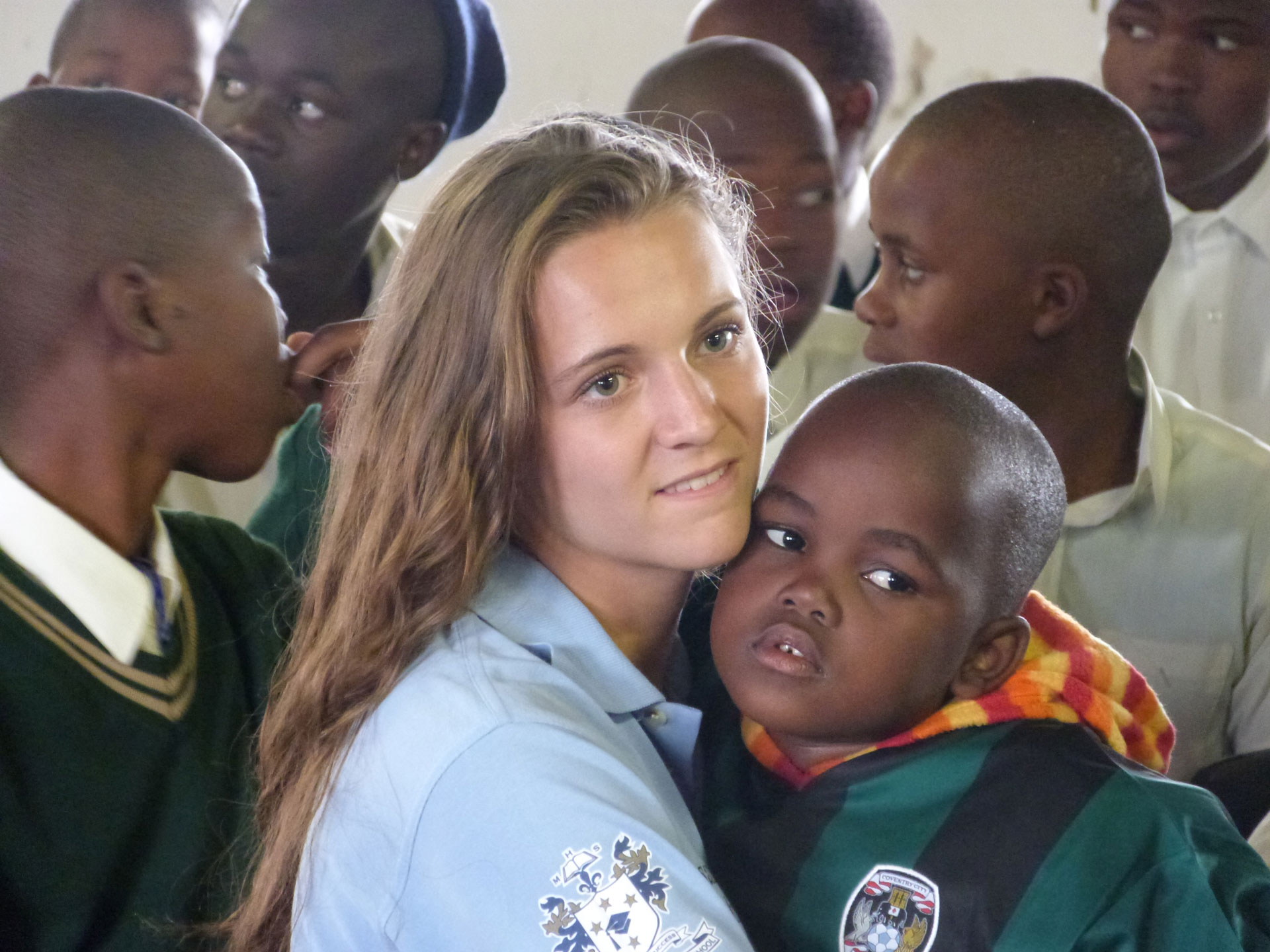 Photo: Chloe during the 2013 South Africa visit