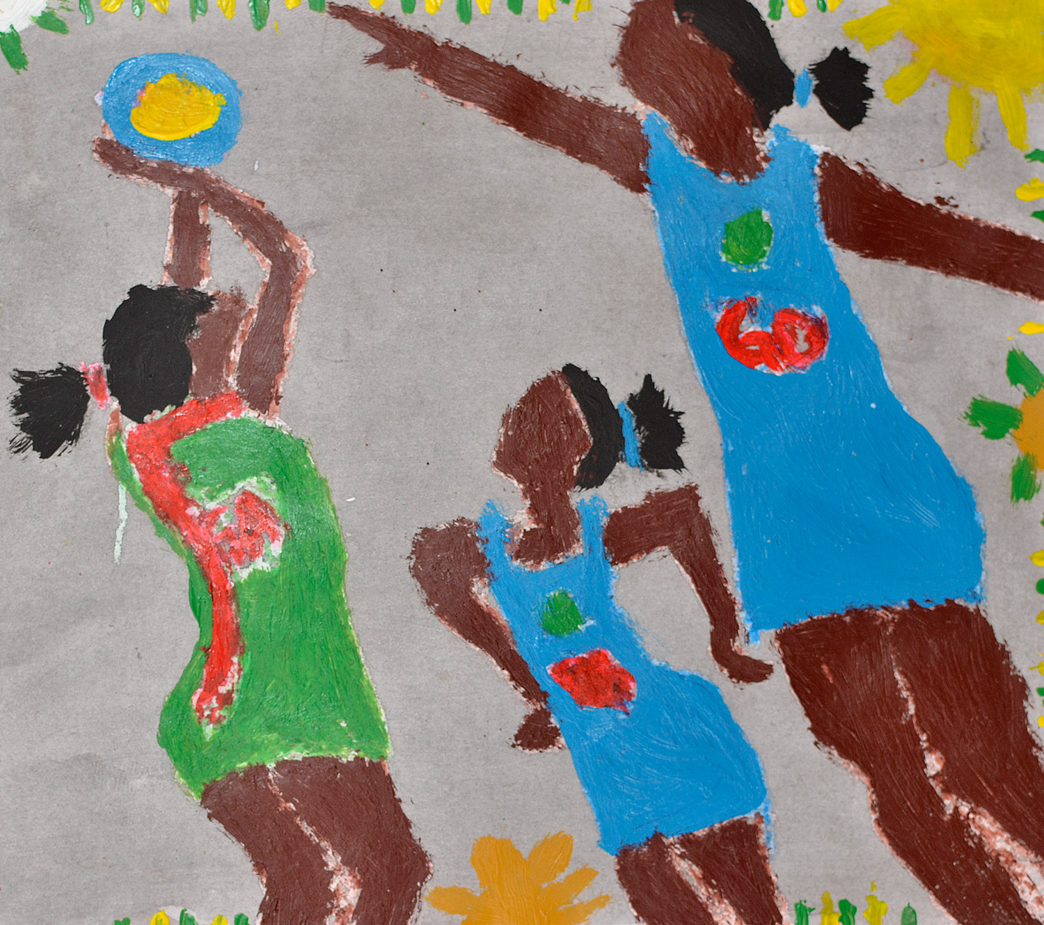 Artwork by a Mnyakanya High School student