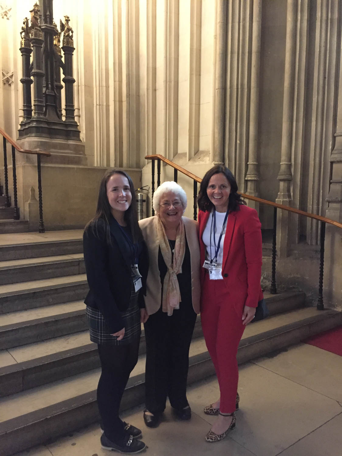 A private tour of the House of Lords by Angela Harris, Baroness Harris of Richmond