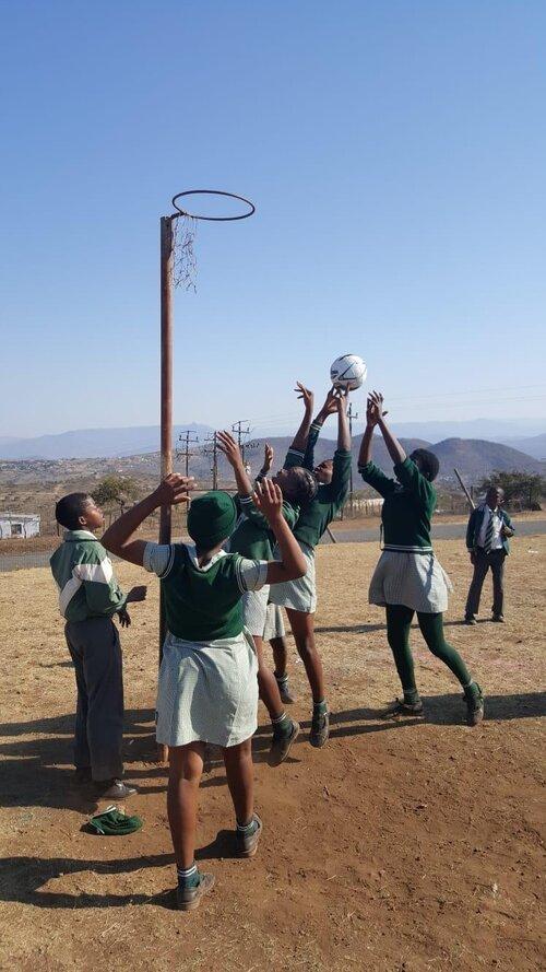 At Ntolwane Primary School