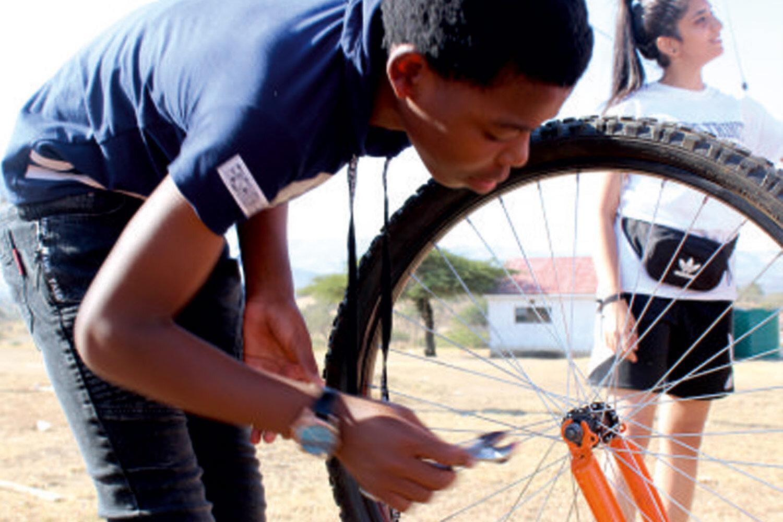Maintaining bikes