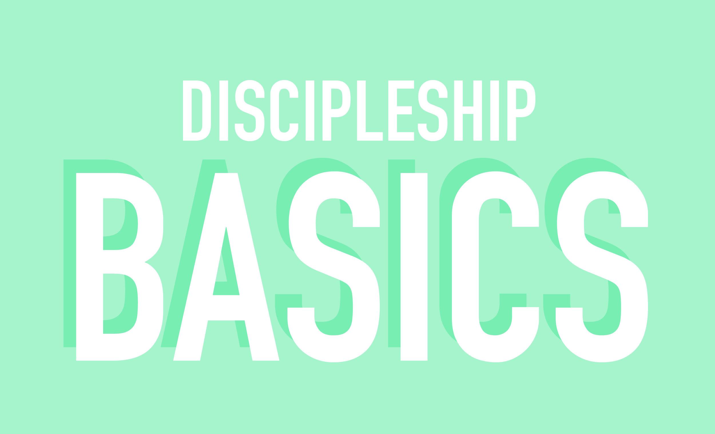discipleship basics