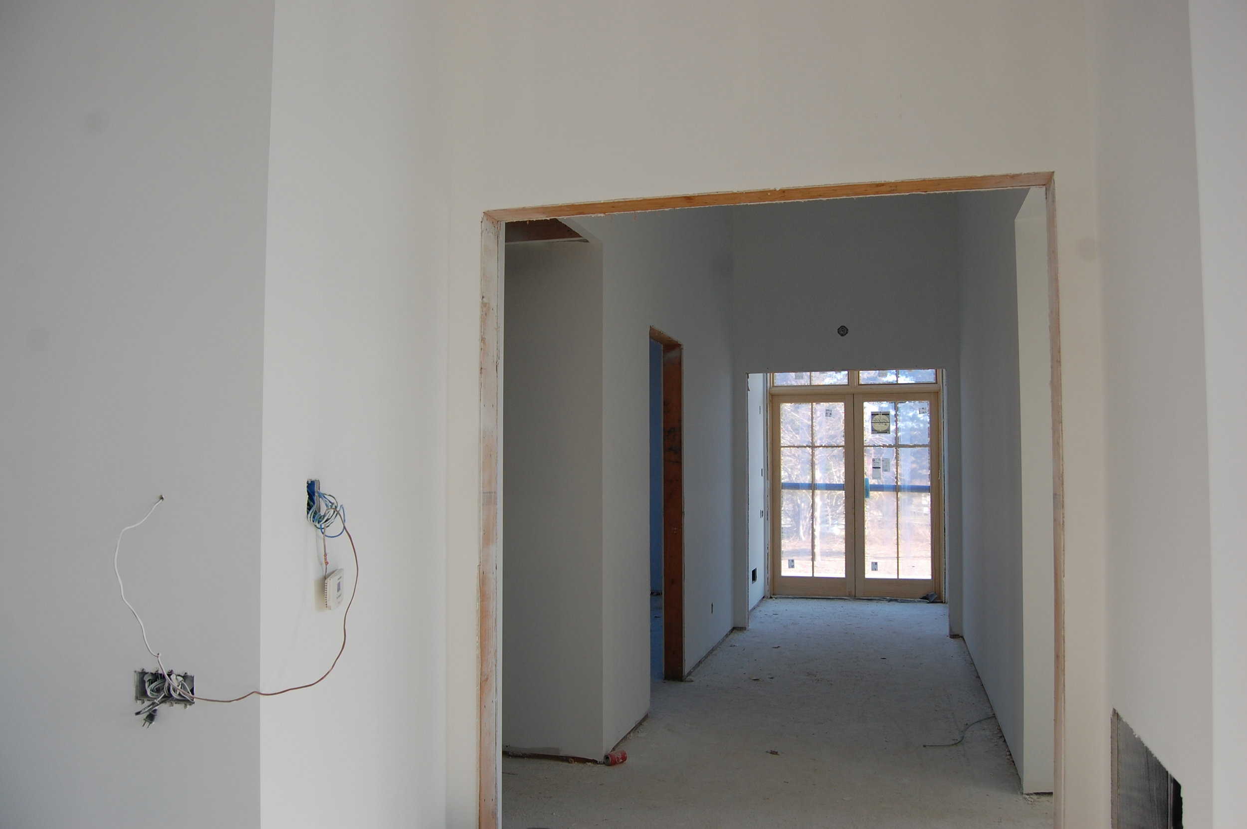 Hallway to Classrooms from the Large Function Hall