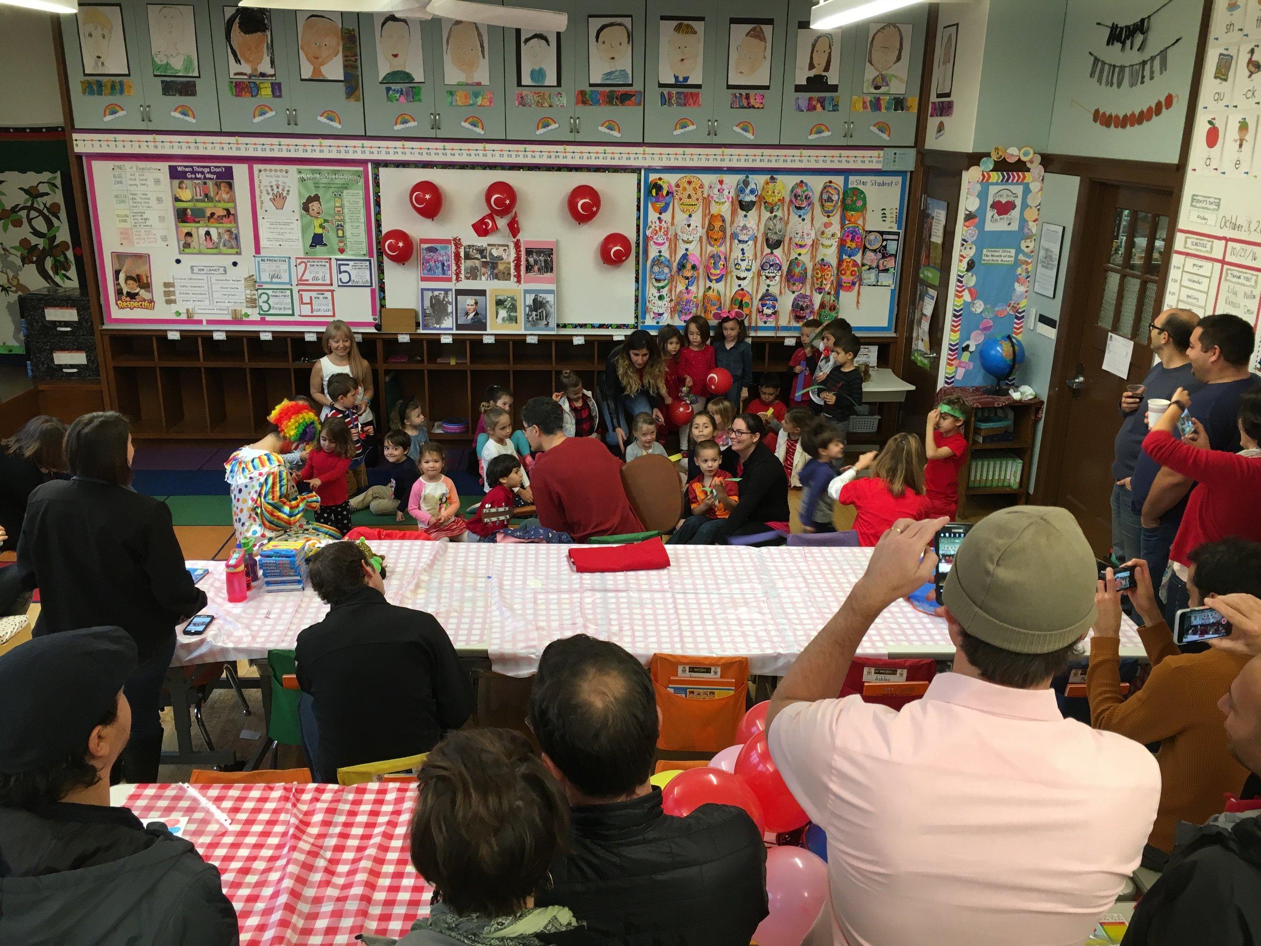 Elma Agaci and Manolya Classrooms