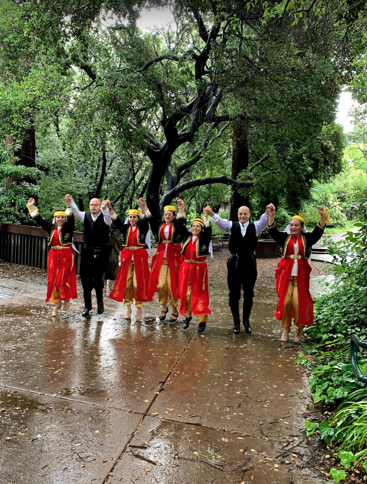 Berkeley Turkish School Folk Dance team dancing to ATABARI dance May 19, 2019, at 9:19 AM Joining  100 groups, 19 countries live performance.