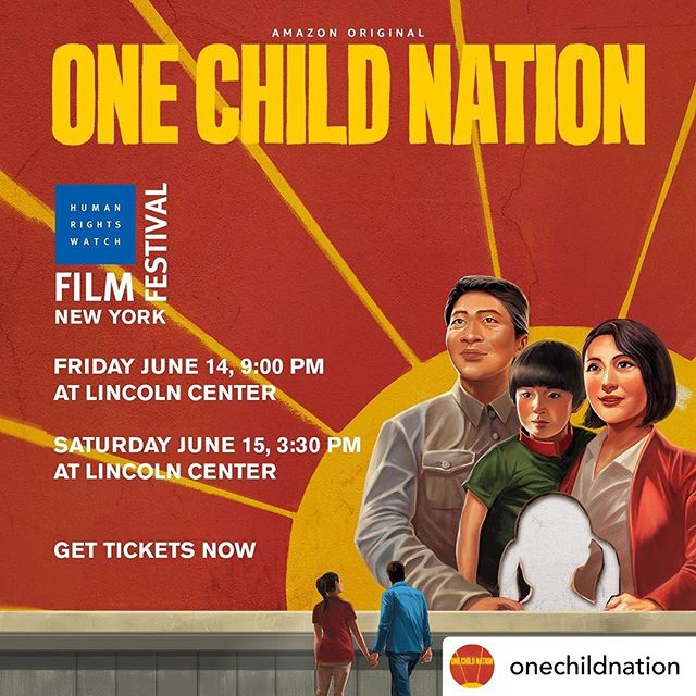 So lucky to have seen this @tribeca - WOW! I still have images from this film flash in my mind! Congrats to @onechildnation for being selected to screen @hrwfilmfestival 🌞 I believe it will be on @amazonprimevideo soon! Power! #mustsee #onechildnation #documentary #china #onechild #stories #power #righttochoose #amazonprime #filmfestival
