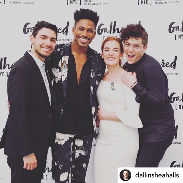 WATCH THIS SPACE! I can't stop thinking about these incredible humans and the wonderful work they are doing to inspire and nurture young talent! Also, I know that guy on the right and he's the BEST @dallinsheahalls - Thank you for such a joyful and moving event! Congrats to you and all the brilliant performers! @bwaycollective @sirroberttakespics @dylanjladd @katelumpkin 🎭