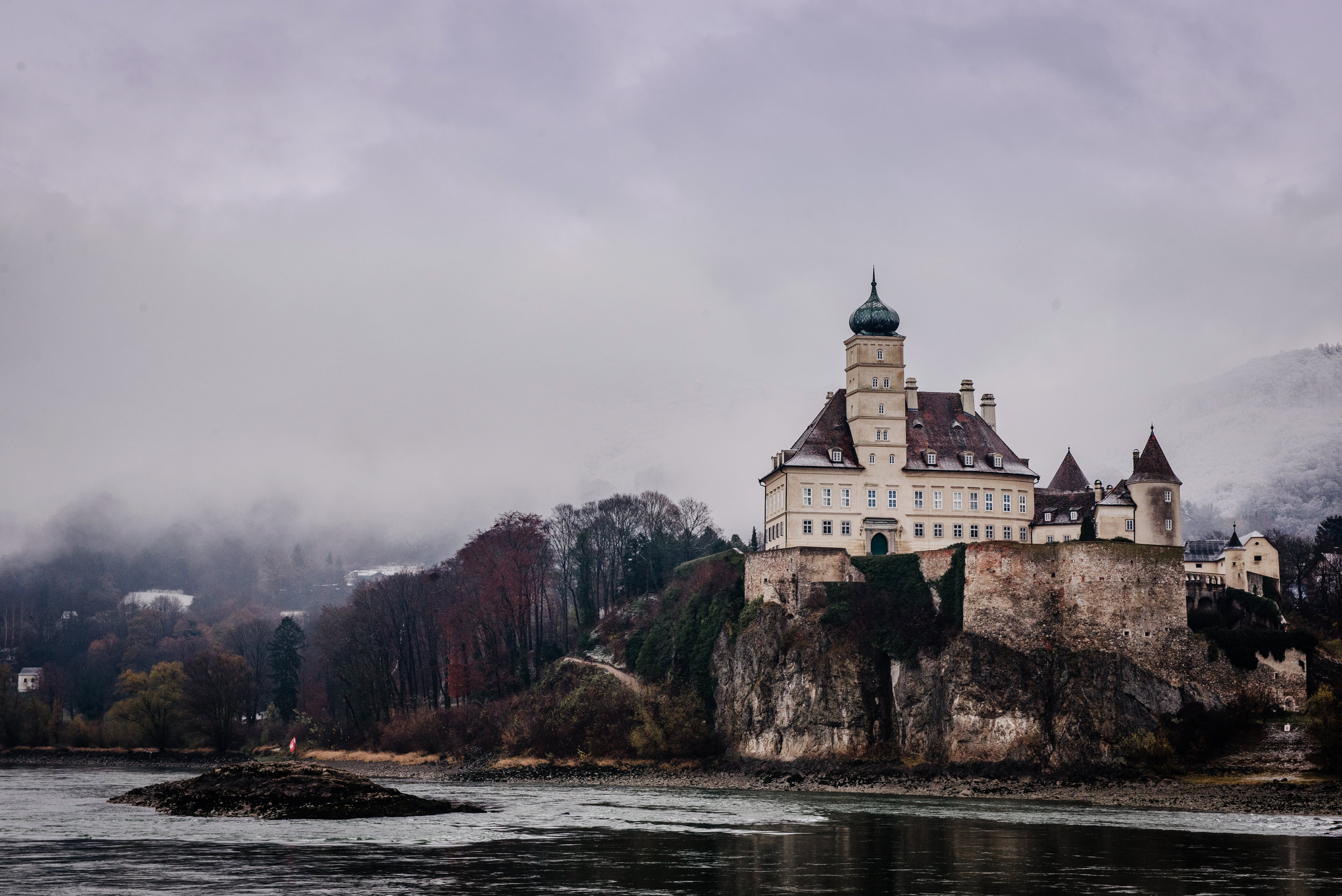 The Schonbuhel Castle on the Danube