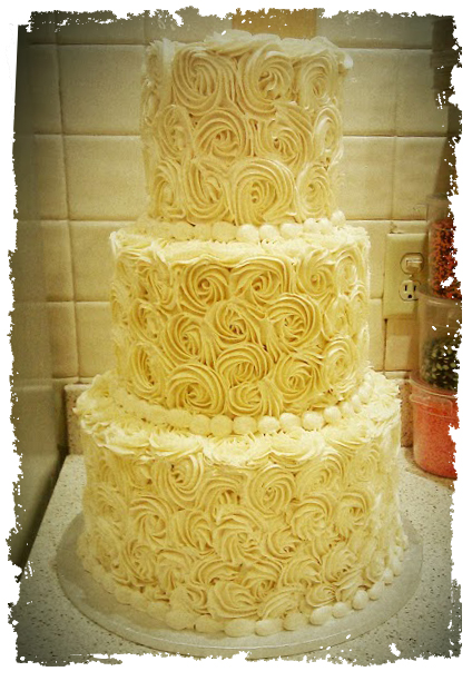 Cammie cake yellow texture
