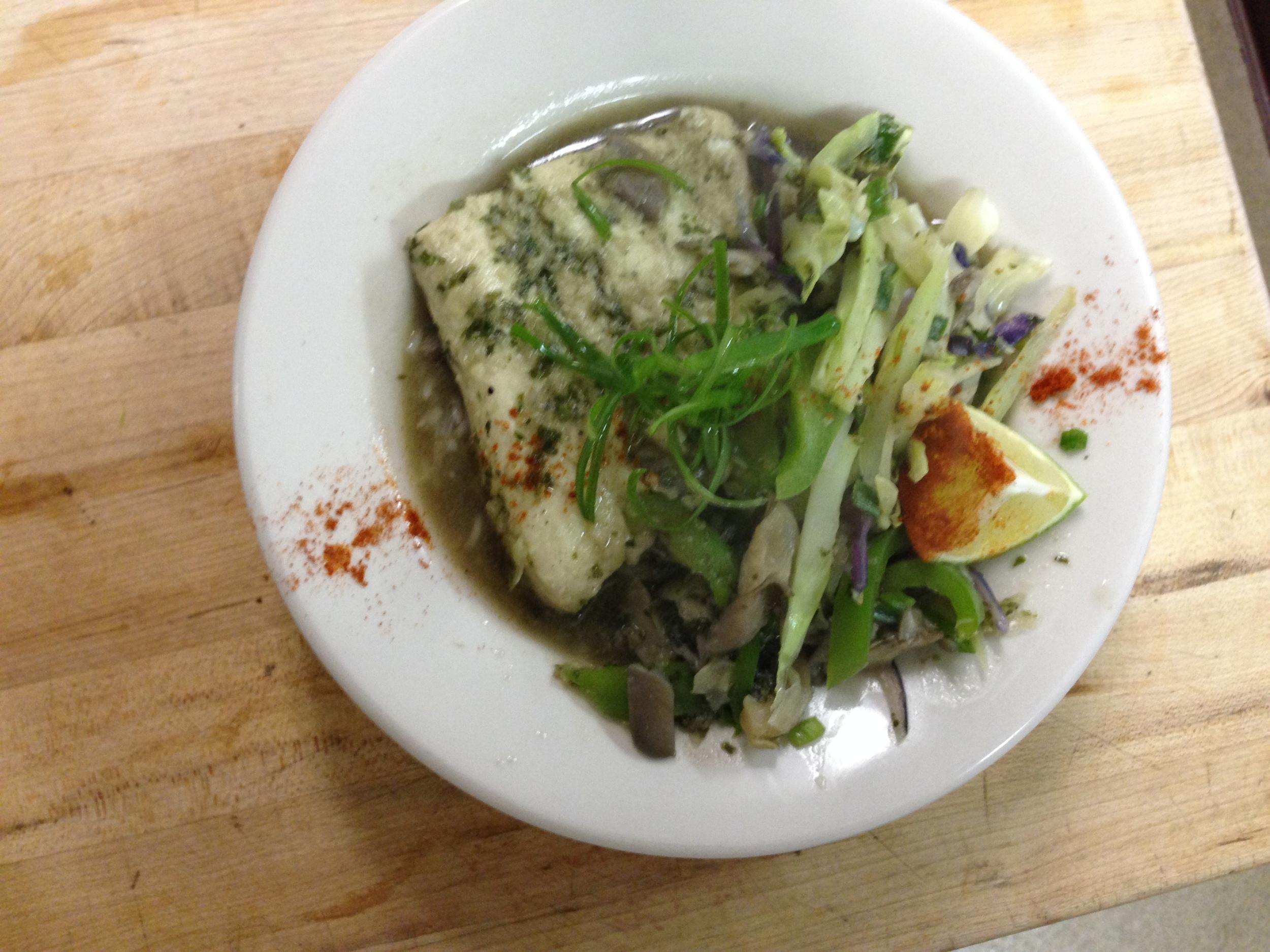 good food soriah cafe chef Ib Hamide