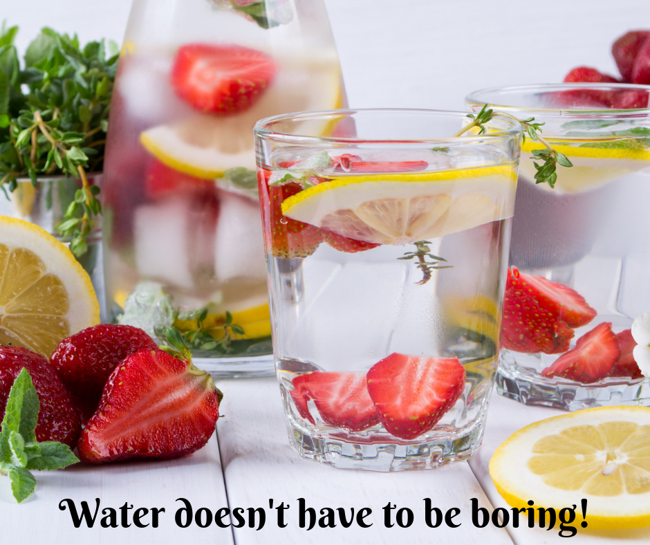 Click the photo above to access additional delicious ideas for fruit infused water!