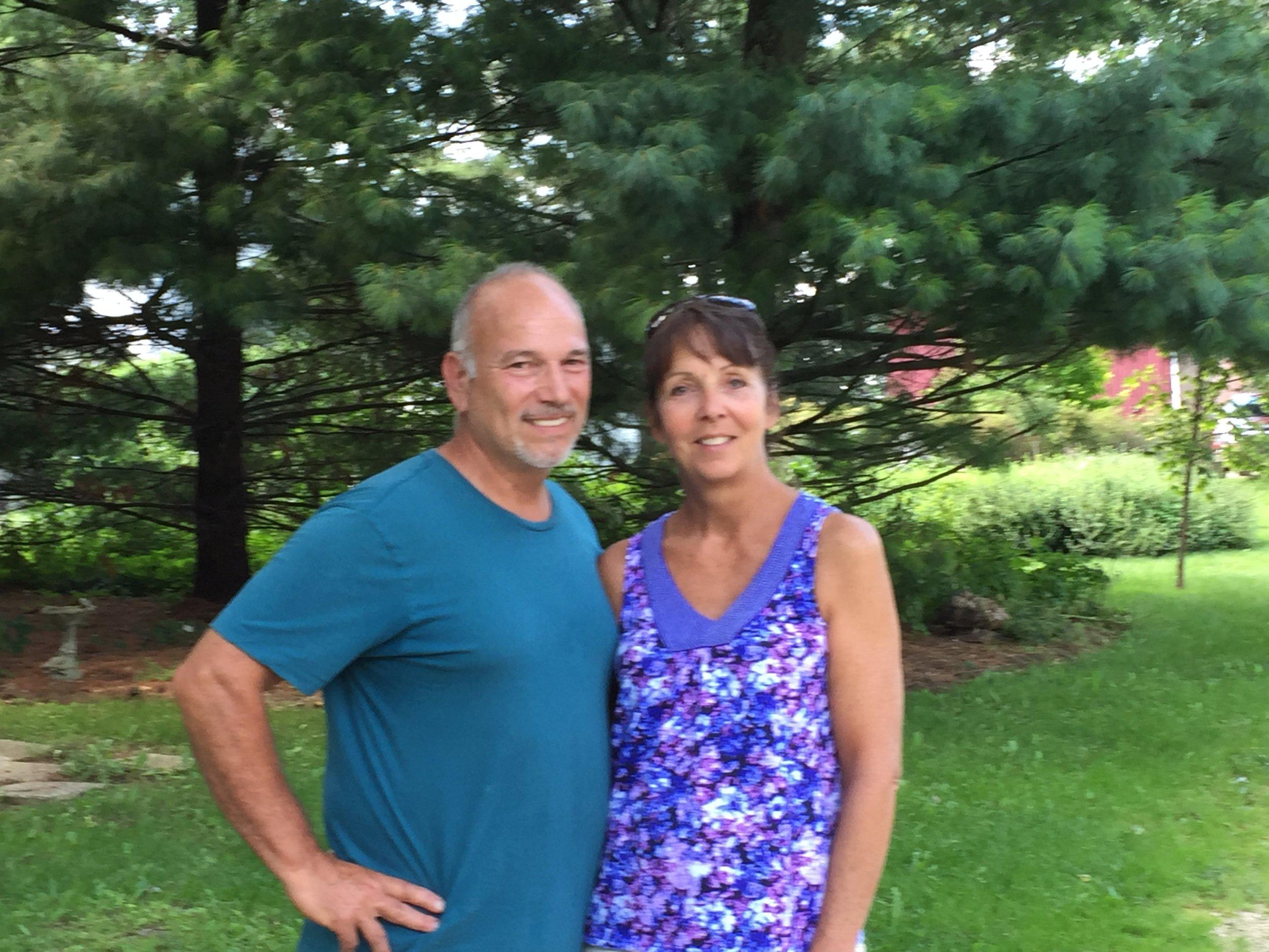 Liz and Tony Fiorenza, Wind Ridge Herb Farm