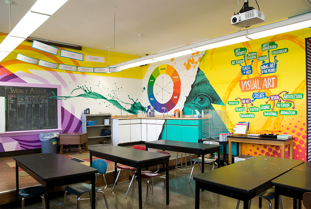 Covington Independent School Classroom