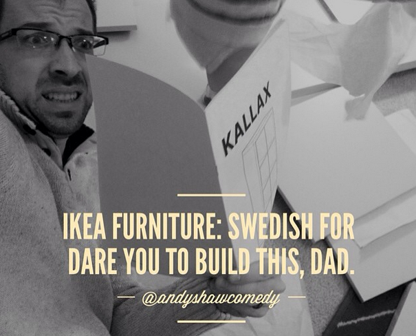 Ikea Furniture: A Drinking Problem in the Making for Dads