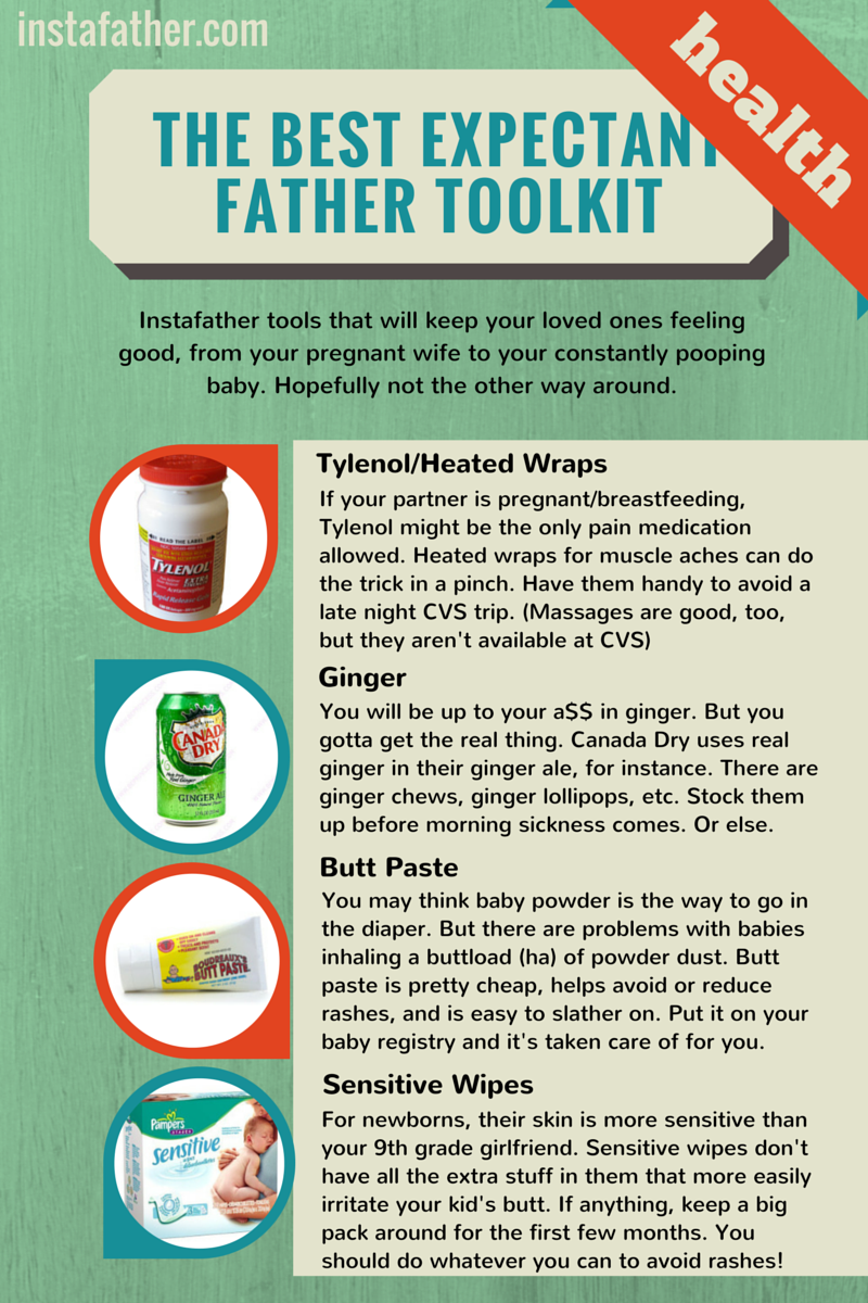 Expectant Father Toolkit: Health Tips