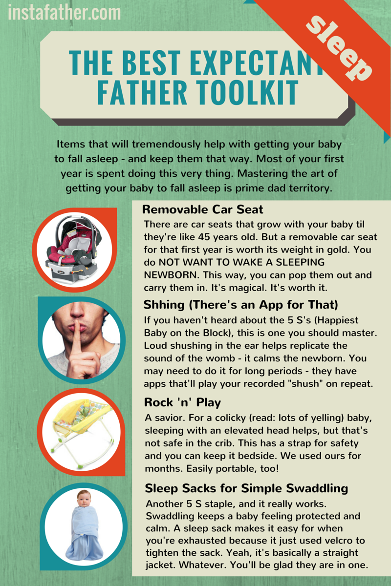 Expectant Father Toolkit: Sleep Tips