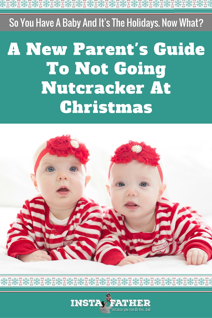 Baby's first Christmas? It's going to be magical! But also, it could be stressful - here's how to put yourself in the best position for the best Christmas. | Instafather.com
