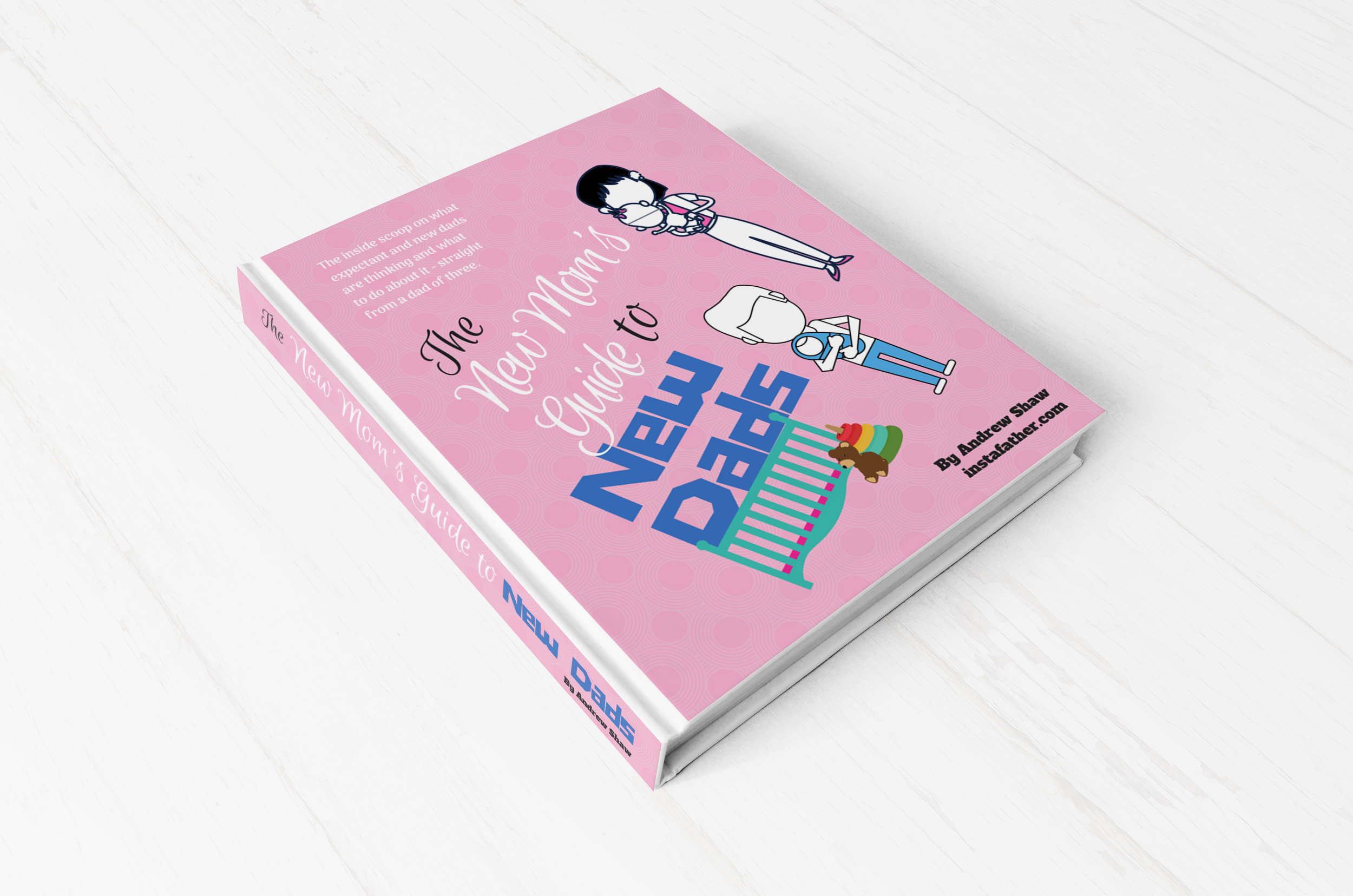 The New Mom's Guide to New Dads - Read a sample chapter of my upcoming book, and sign up to be the first to know when it's released!