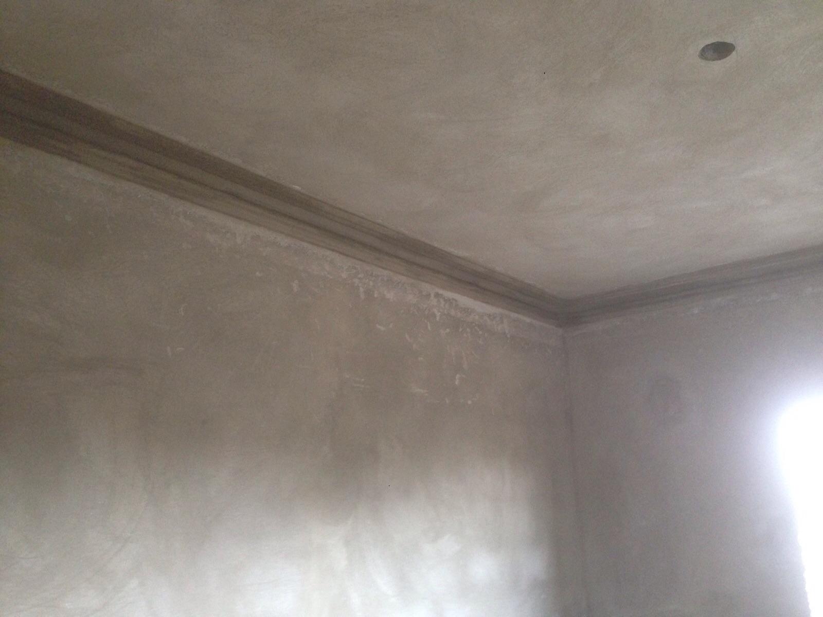 Guesthouse, First Floor trim work