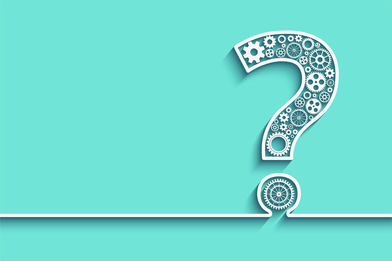 Questions get your gears turning!