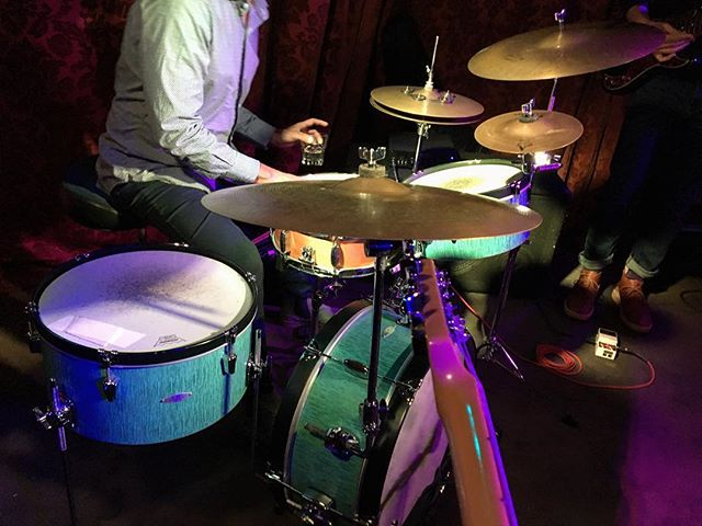 Tonite! Early show 8pm!  at @bar_pink #sandiego #livemusic #candcdrums #fender #originalmusic #surf #rocknroll #jazzy #groovy #tastycocktails