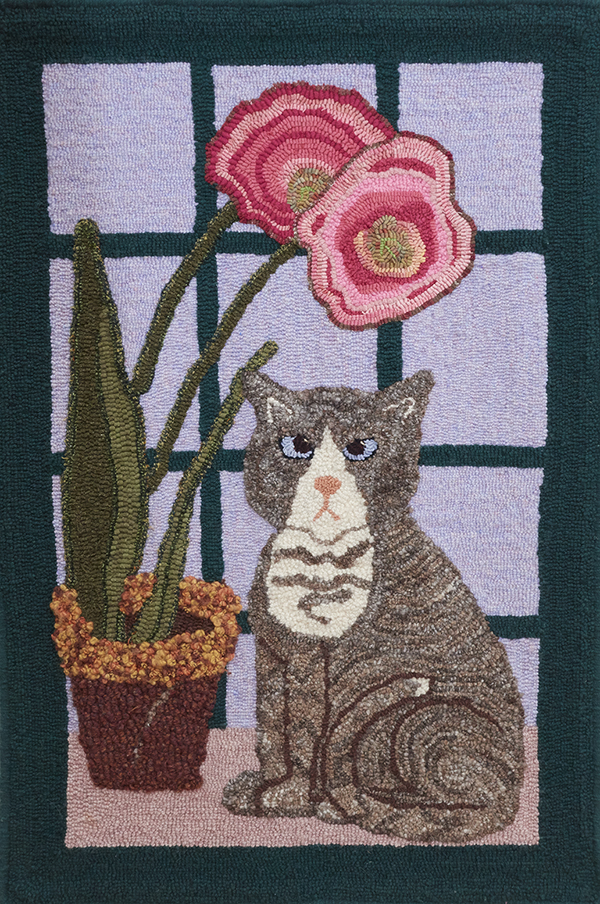 Betty's Cat, A Sarah Ladd Adaptation   Published in 'Joy Of Hooking With Yarn'. 2010