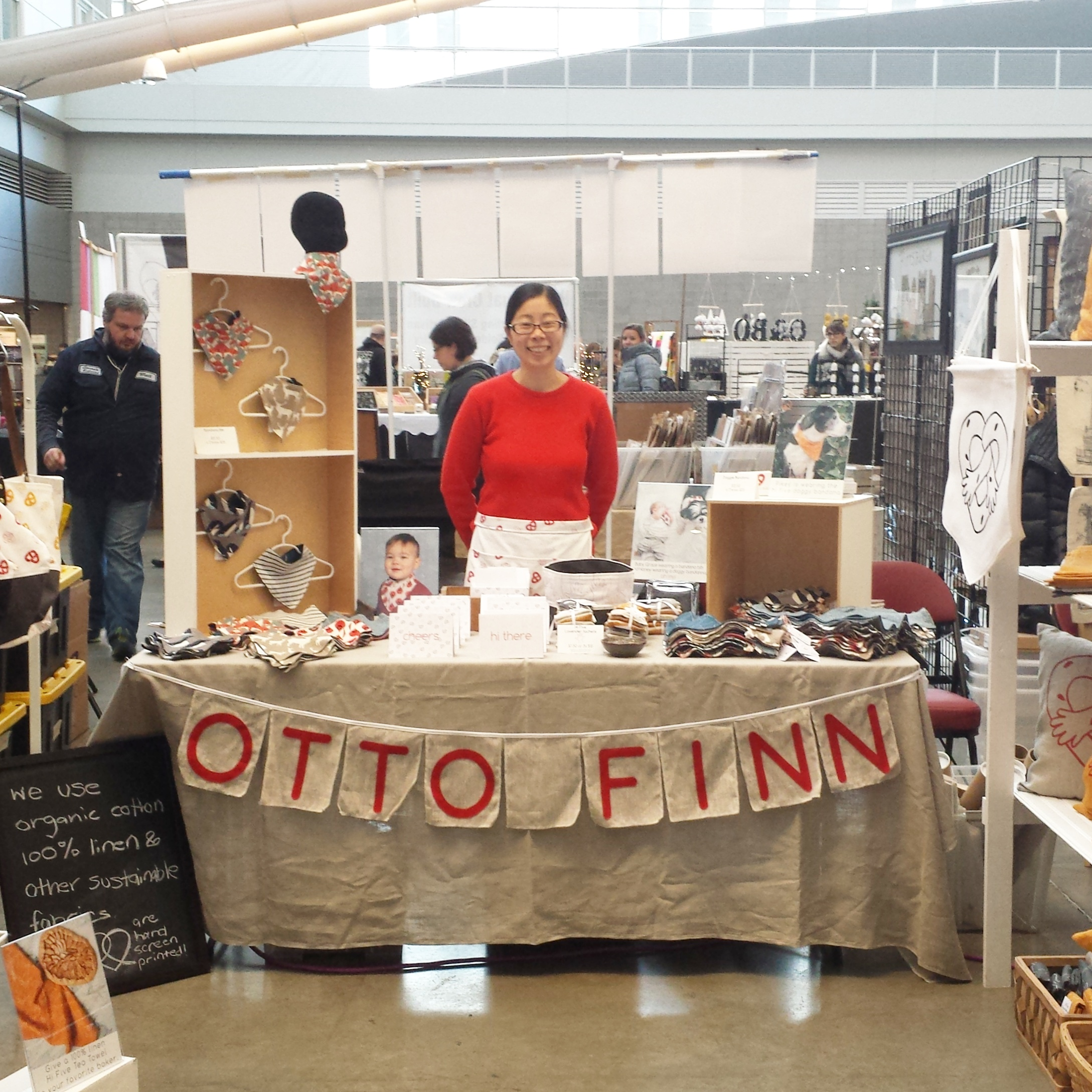 """Rona Chang of Otto Finn. Chang and her husband, Ross, are """"purveyors of pretzel hugs, hi fives and other fine goods."""""""