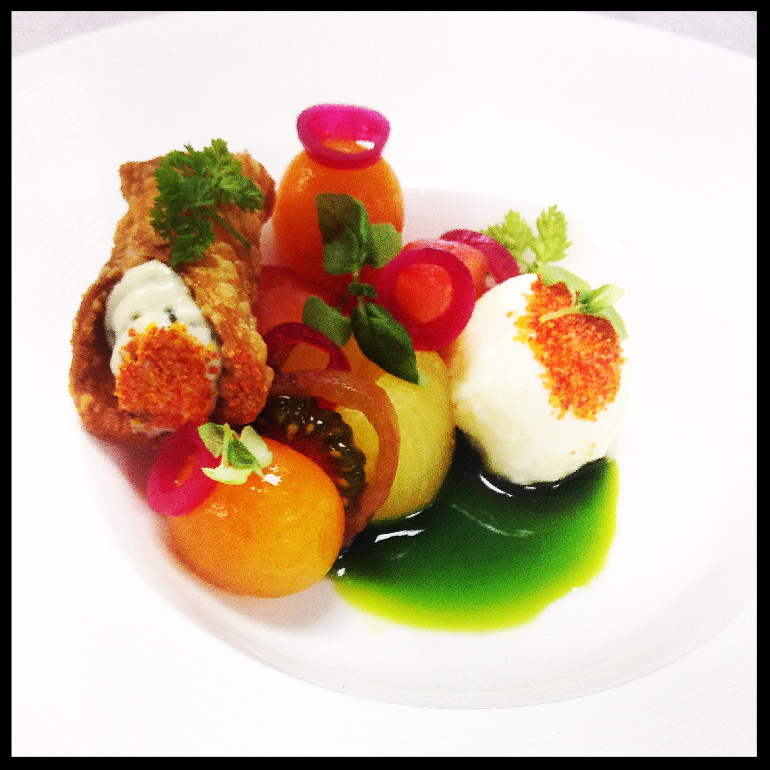 Colorful creation by Plated Trade.