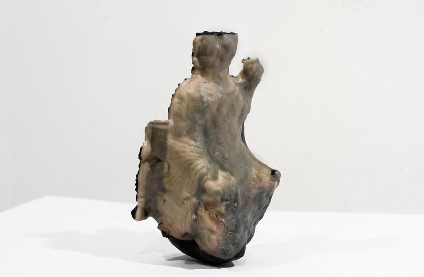 Ryan Woodring,  replicated Hatrene goddess usurps her dethroning  (2015), composite 3D print, 4 x 6.5 x 4.5 in.