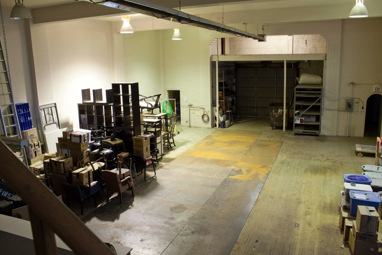 We've come a long way . . . Radiant Hall's Lawrenceville studio 5 years ago.