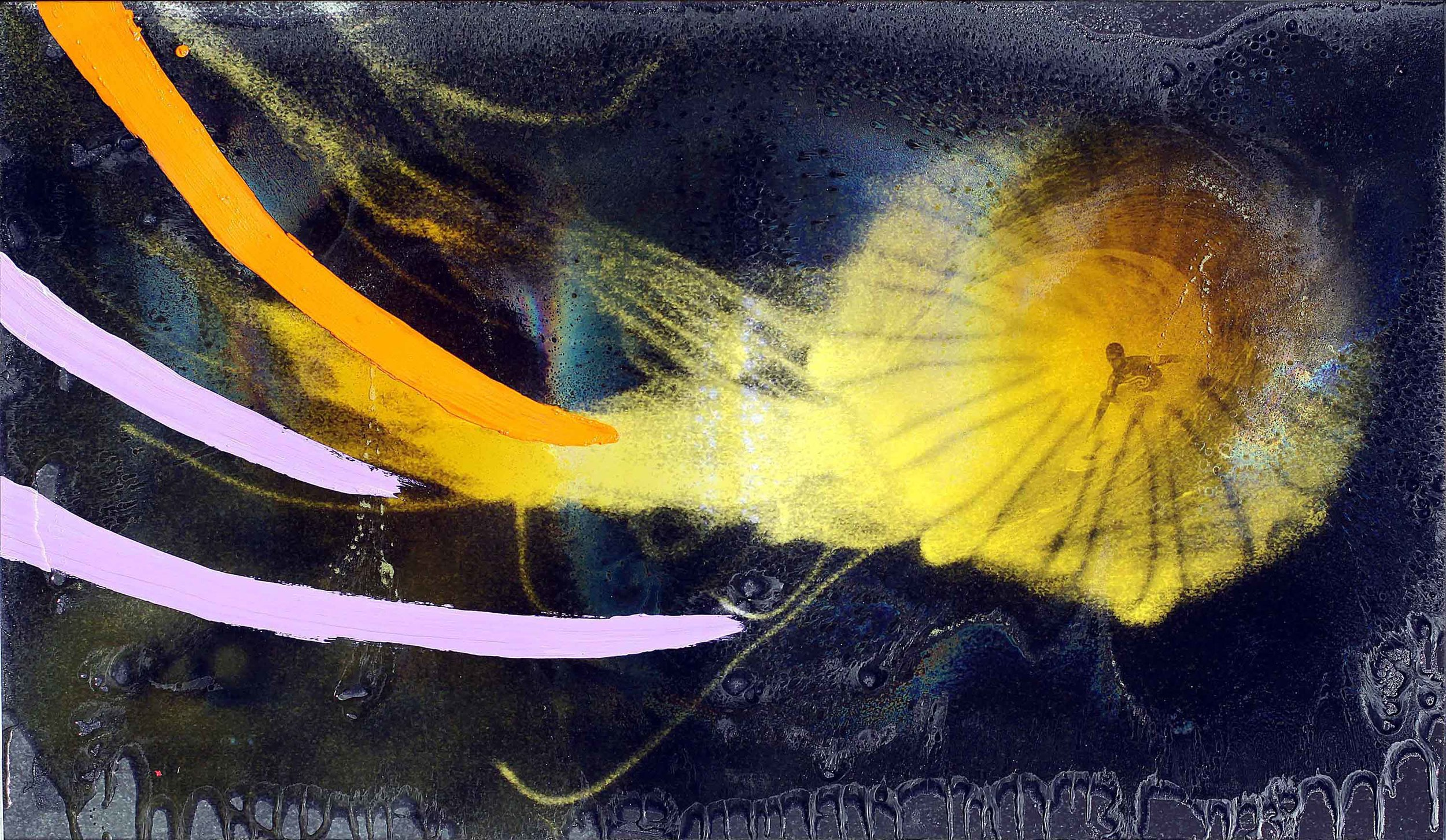 - - 0 - Ink, Oil, Resin & Fiberglass on Canvas PAINTING Andy Jellyfish IMG_3274-CC-F-C-S TEXT P2.jpg
