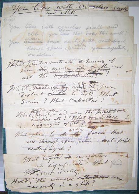 Origins: Manuscript Page (collage)