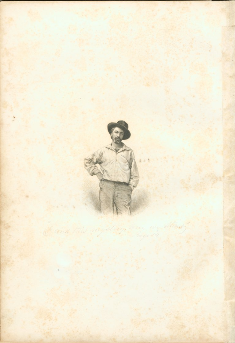 Origins: Frontispiece, 1855 Leaves of Grass