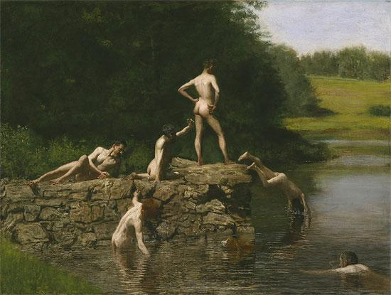 Sexuality: Painting (Eakins's Swimming)