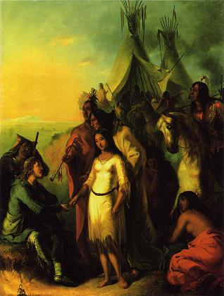 "Politics: Painting (""The Trapper's Bride"")"