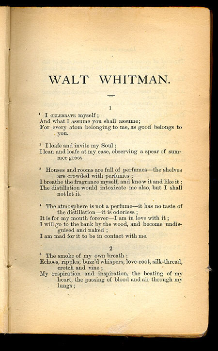 Title and Revision: 1867 (Walt Whitman)