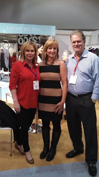 Tracy, Kathy & Conrad Hilton