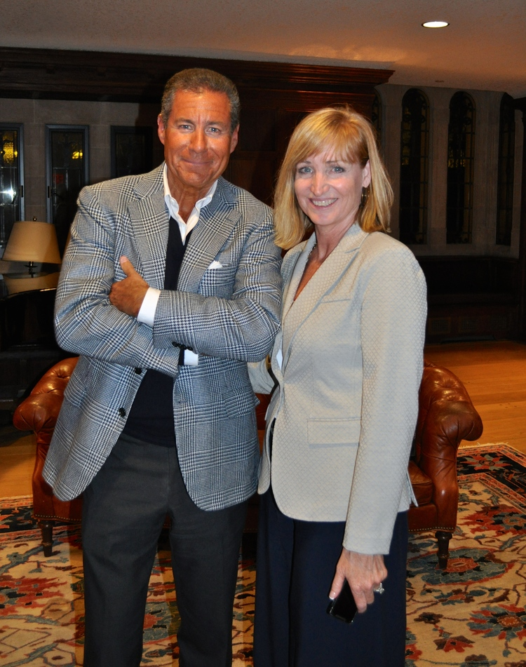 Tracy & Richard Plepler, Chairman and CEO of Home Box Office (HBO)