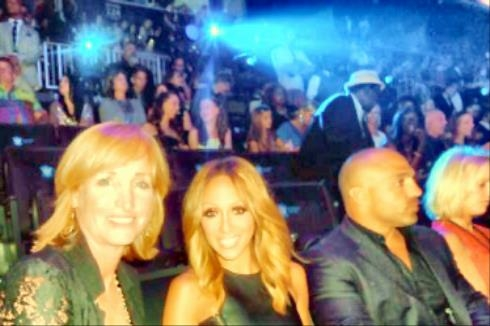 Tracy & Melissa Gorga, Real Housewife of New Jersey @ MTV Music Awards