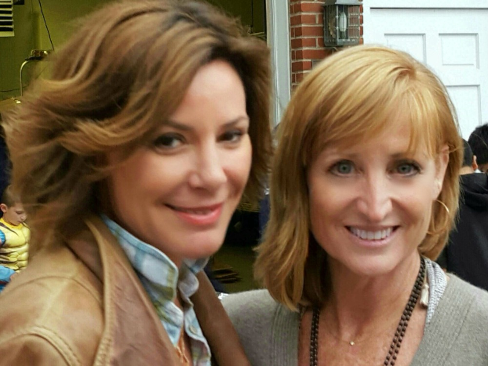 Tracy & Countess Luanne de Lesseps, Real Housewife of NY, in Sag Harbor, NY